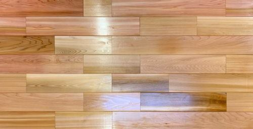 Imported Wood tiles untreated